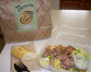 panera bread salad