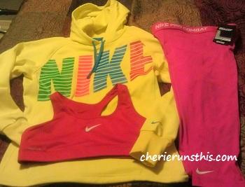 Nike Sweatshirt, Nike pro combat pants, Nike sports bra